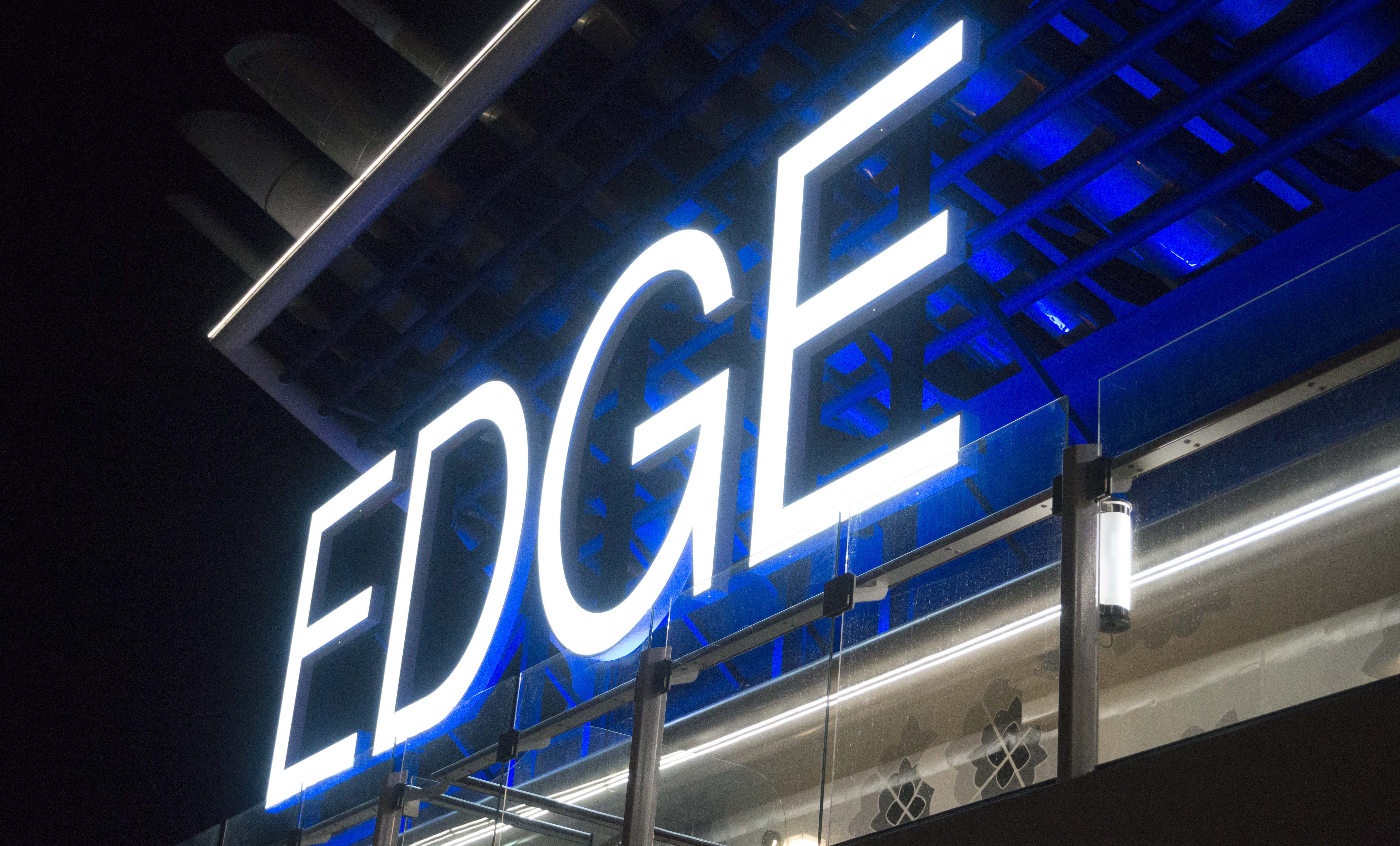 EDGE sign
