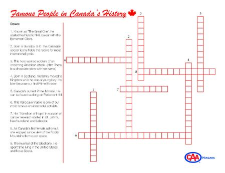 Famous People - Crossword (002)