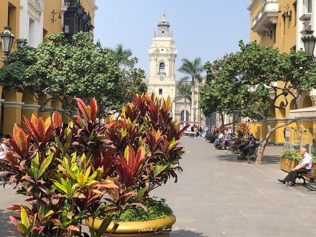 Plaza Mayor in Lima District © Frank Chiarelli