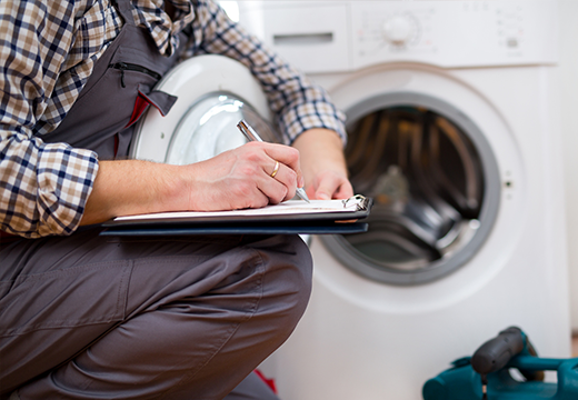 CAA Home Equipment Breakdown coverage includes laundry appliances