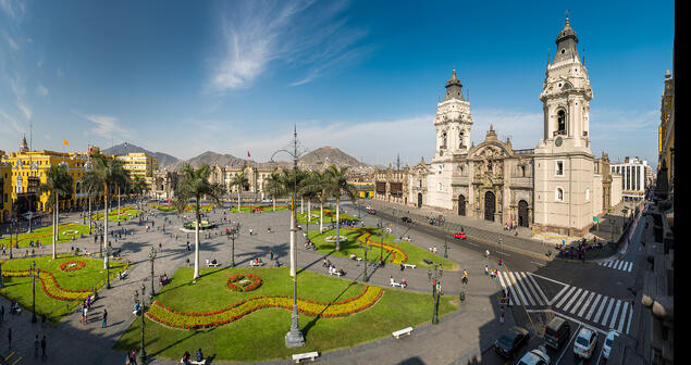 Plaza Mayor in Lima District