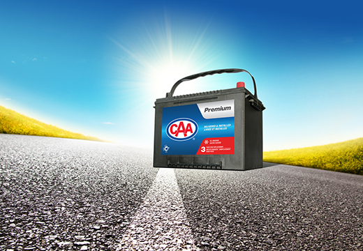 CAA Mobile Battery withstanding summer heat.